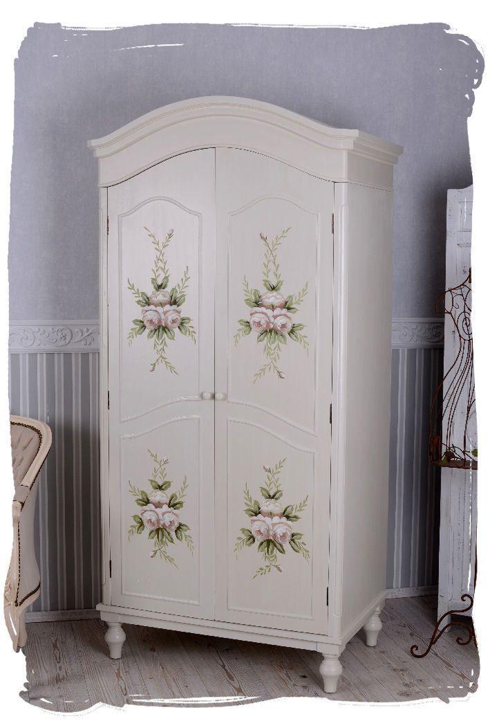 Elegant GROSSER KLEIDERSCHRANK VINTAGE SCHRANK LANDHAUSSTIL Schlafzimmerschrank  Shabby | EBay | Bad | Pinterest | Chalk Paint