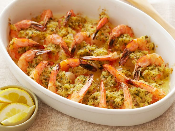 Baked Shrimp Scampi~ A friend made this for me and it was the best Scampi. I hope mine turns out as good as hers when I make it.