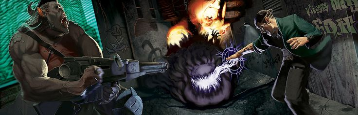 Shadowrun 5th Edition artwork