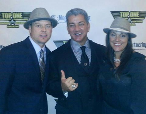 Garth and Hannah Watrous are with the voice, Bruce Buffer.