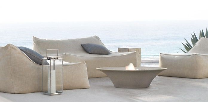 What a gorgeous outdoor set! Ibiza | Restoration Hardware
