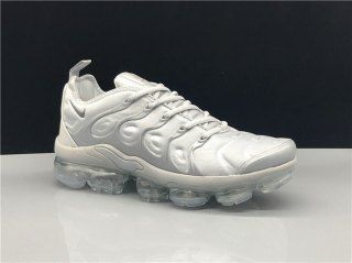 6f41ed4658c16 Nike Air Vapormax Plus TN Triple Grey Sneakers Women s Men s Running Shoes