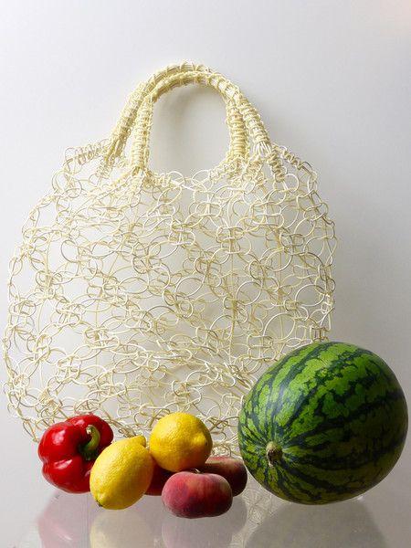 markttasche in beige wei von alma mexicana auf dawanda. Black Bedroom Furniture Sets. Home Design Ideas