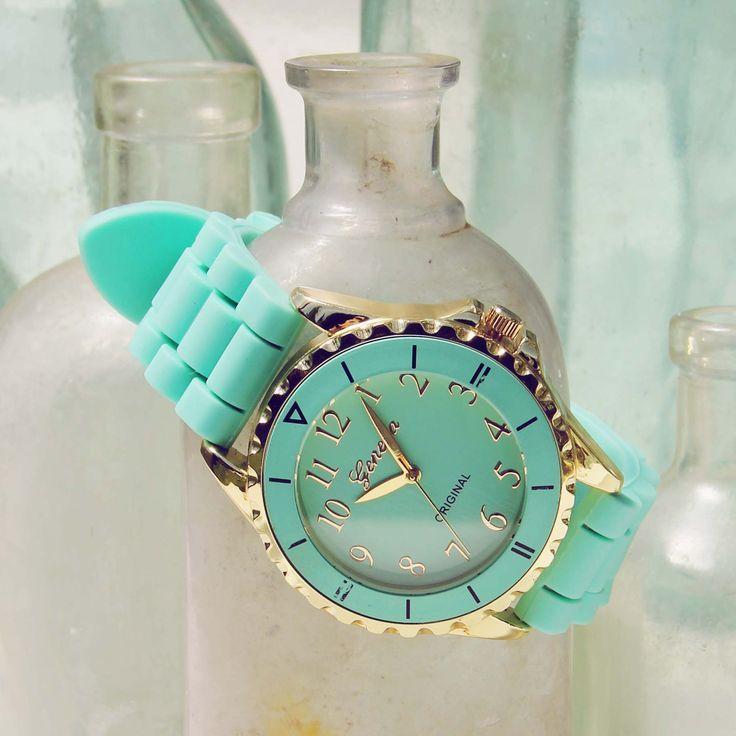 Frosted Mint Watch, Women's Sweet Bohemian Jewelry