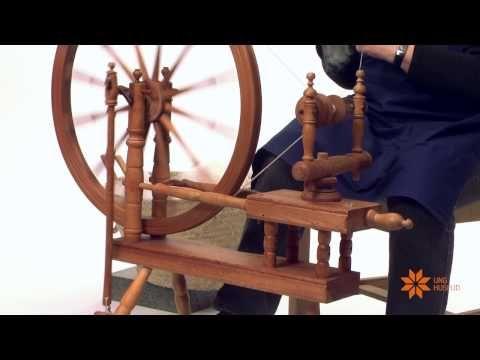 Spinning på håndrokk og håndteine - YouTube