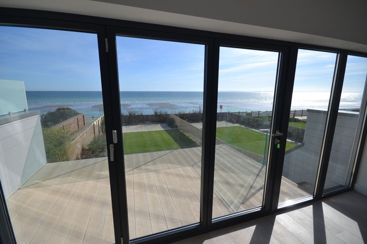 Amazing seaside views from a customer's home. We love working in different places and helping our customers with their home renovations.