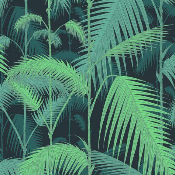 Palm Jungle, col. Vert, Cole & Son (Au Fil des couleurs)