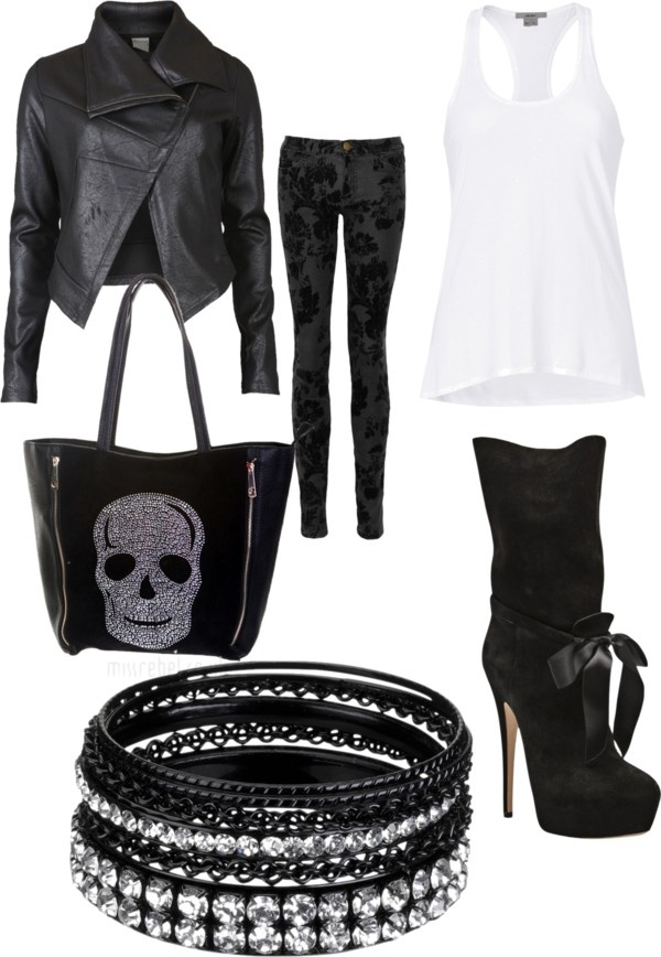 """rock"" by monaz30571 ❤ liked on Polyvore"