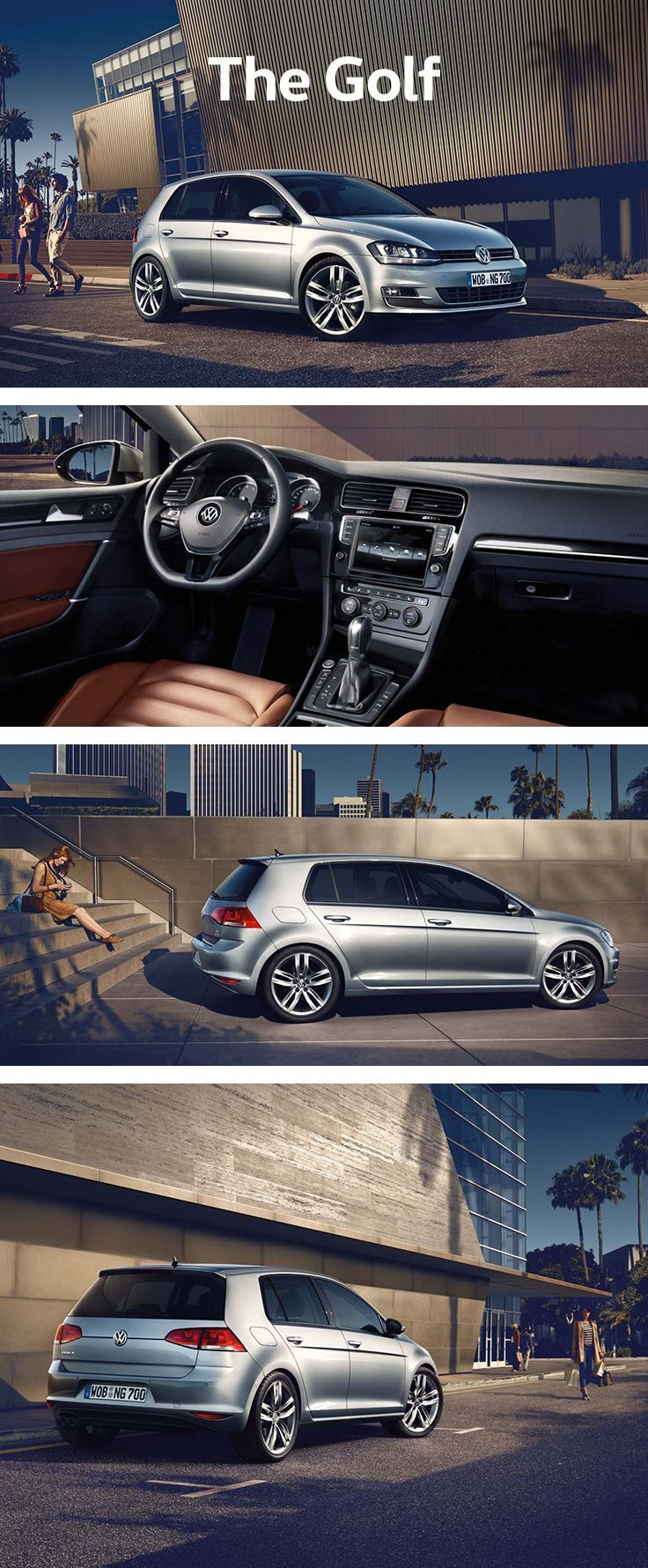 Best Dubai Luxury And Sports Cars In Dubai: For easy everyday use the Volkswagen Golf is a compact car with an especially l