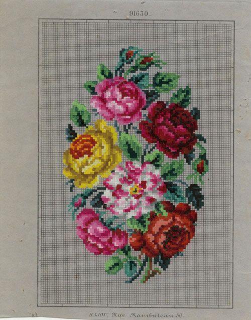 Berlin Woolwork Pattern