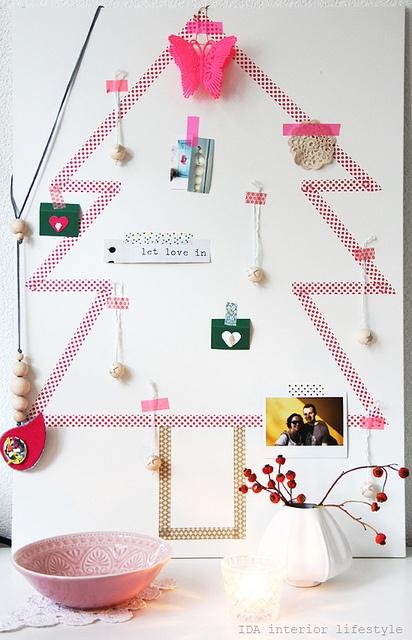mt washi tape Christmas tree