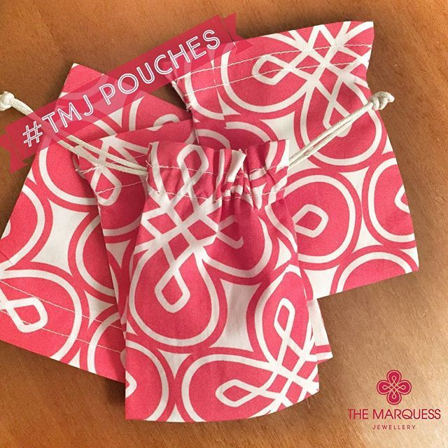 Pouches work in progress.. www.themarquessjewellery.com #themarquessjewellery #handmade #madeinitaly #jewellery #costume...