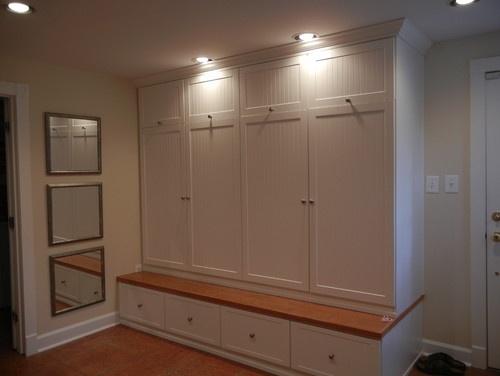 Fully Enclosed Floor To Ceiing Cupboards Michaela Clancy