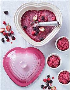 Christmas - Homeware: Pale Rose Heart Dish!