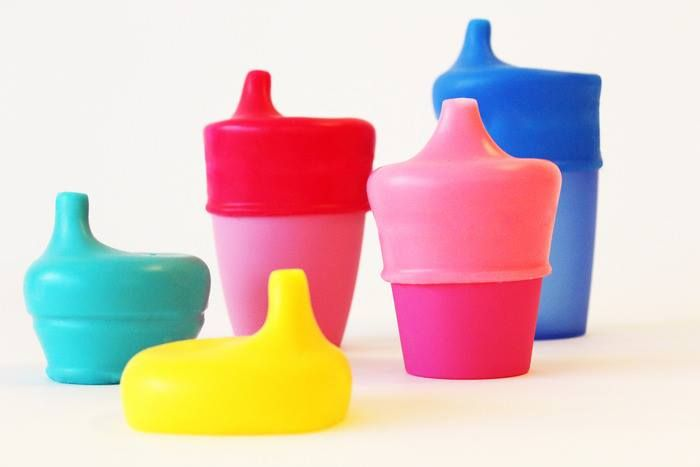 Make any cup a sippy cup with our silicone sippy cup covers. Non leak, Food grade silicone, BPA free and dishwasher/sterilizer safe.