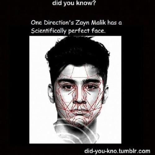 I mean I knew his face was perfect but I'm glad science agrees.>>>I'm not surprised