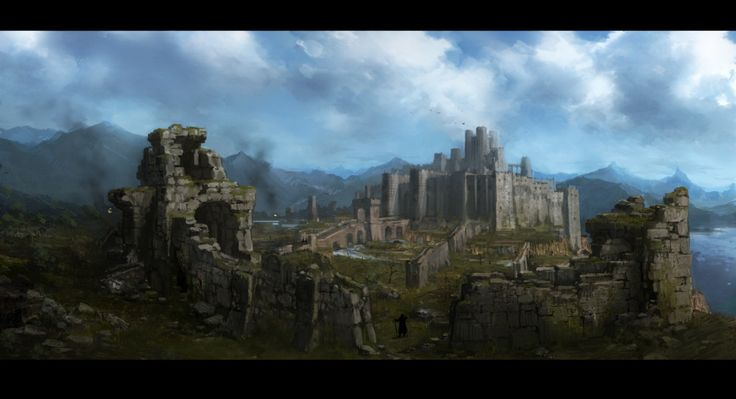 ♕ SPIRIT BRINGERS: EMPYREAN REALM. (SAGA DE AMAGI) - Página 7 6b03d809ec7f329754718b152f82a713--dragons-dogma-castle-ruins