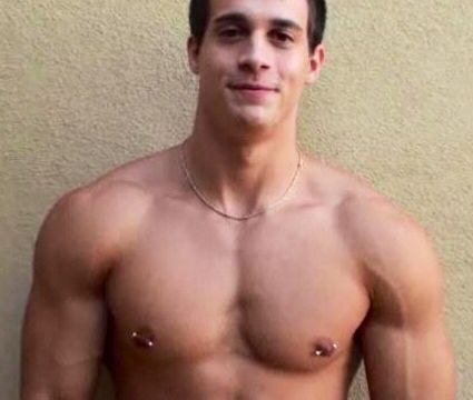 gay porn muscle pierced nipple