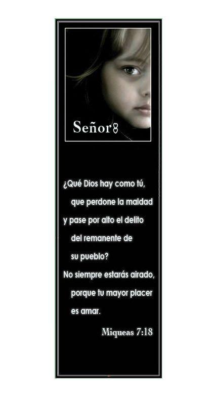 Miqueas 7 18 marcadores en espa ol marcadores en for Pinterest en espanol