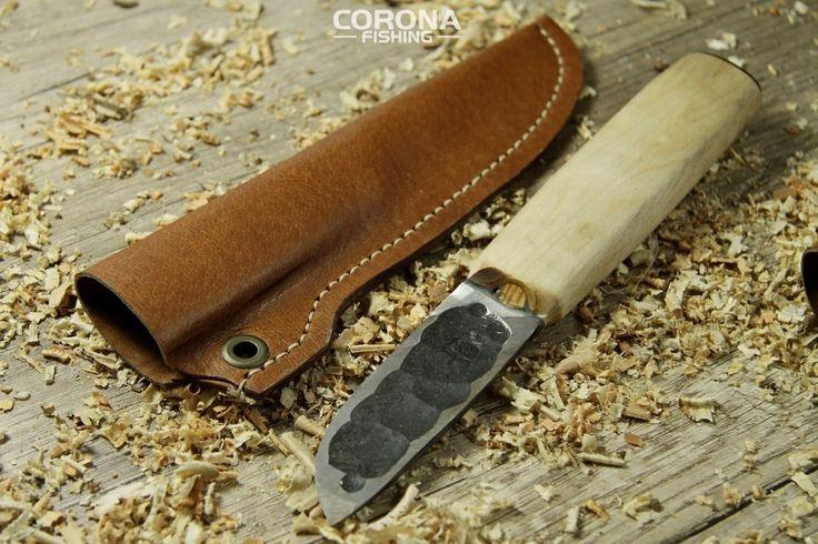 Nóż handmade Jatuni kuty w twardej stali! #wędkarstwo #outdoor #prezentdlaniego #survival #handmade
