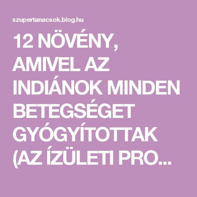 12 NÖVÉNY, AMIVEL AZ INDIÁNOK MINDEN BETEGSÉGET GYÓGYÍTOTTAK (AZ ÍZÜLETI PROBLÉMÁKTÓL A RÁKIG) - Segithetek.blog.hu