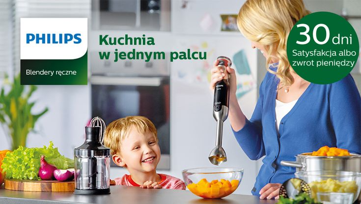 30 dni Satysfakcja albo zwrot pieniędzy PHILIPS szczegóły http://www.komputronik.pl/philips_blender/?utm_source=KT_BK_02_02_2016_philips_blender&utm_medium=banner&utm_campaign=philips_blender