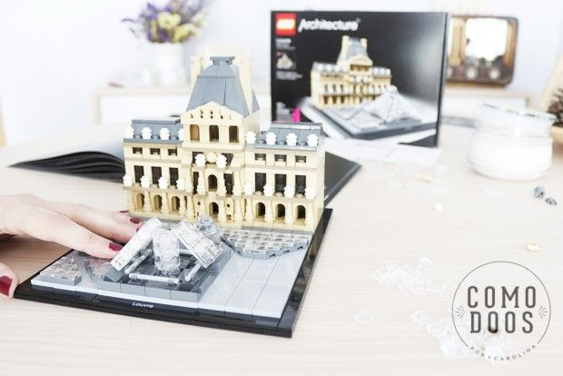 Mini arquitectura de Lego. Juguemos a ser niños