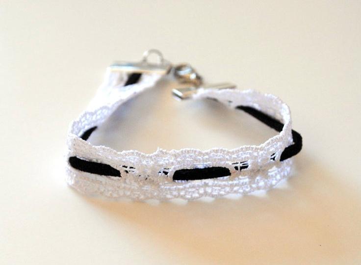 Leather & Lace Bracelets