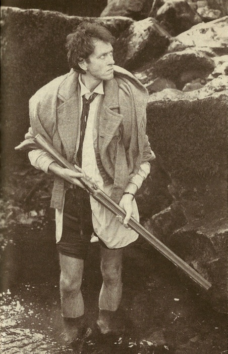 Withnail fishing.