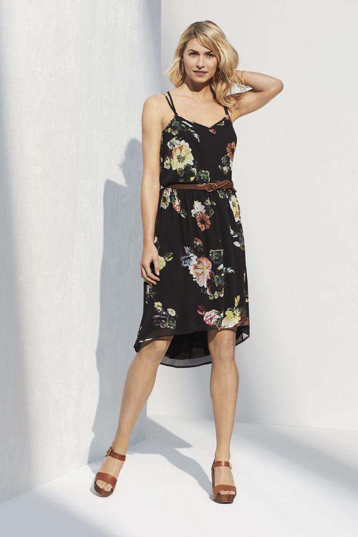 Summer check list: Flirty floral prints. Feminine silhouettes. Soft details.