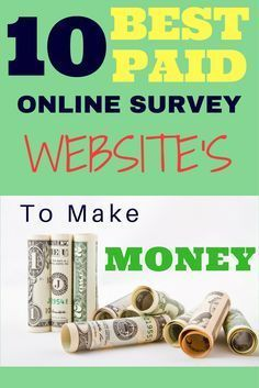 Paid Online Survey, Work at Home Jobs, Make Money Online,