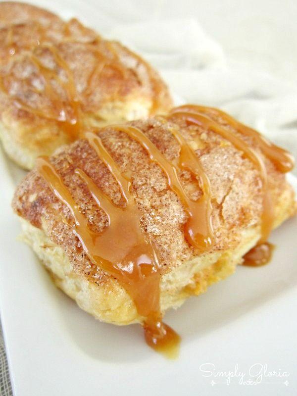 Easy to make Caramel Pumpkin Empanadas | by @SimplyGloria