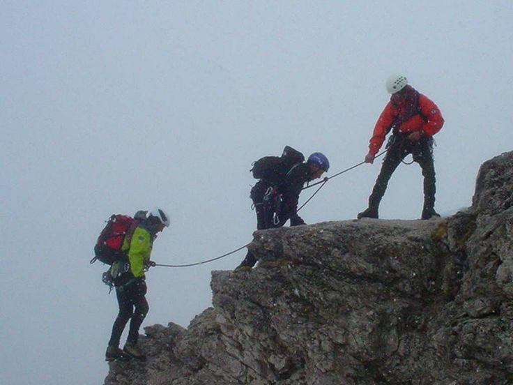 Monte Rosa, alpinismo  /  Alp Mountaineering.