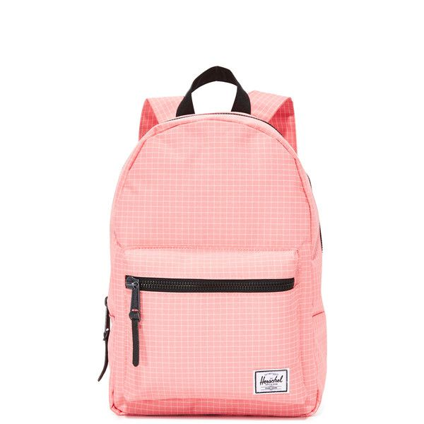 Herschel Supply Co. Grove X-Small Backpack ($56) ❤ liked on Polyvore featuring bags, backpacks, strawberry ice grid, daypack bag, backpack bags, herschel supply co backpack, red backpack and lining bag