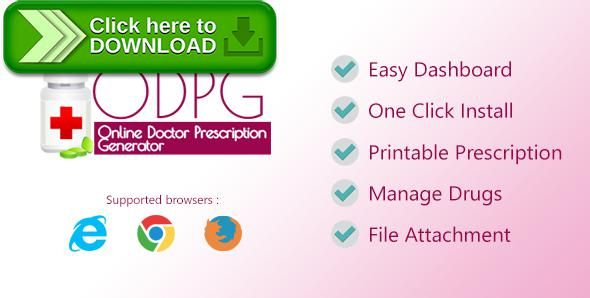 [ThemeForest]Free nulled download Online Doctor Prescription Generator from http://zippyfile.download/f.php?id=50136 Tags: ecommerce, diagnosis list, doctor, doctor dashboard, drug management, image gellery, patient list, patient management, php, prescription, prescription generator