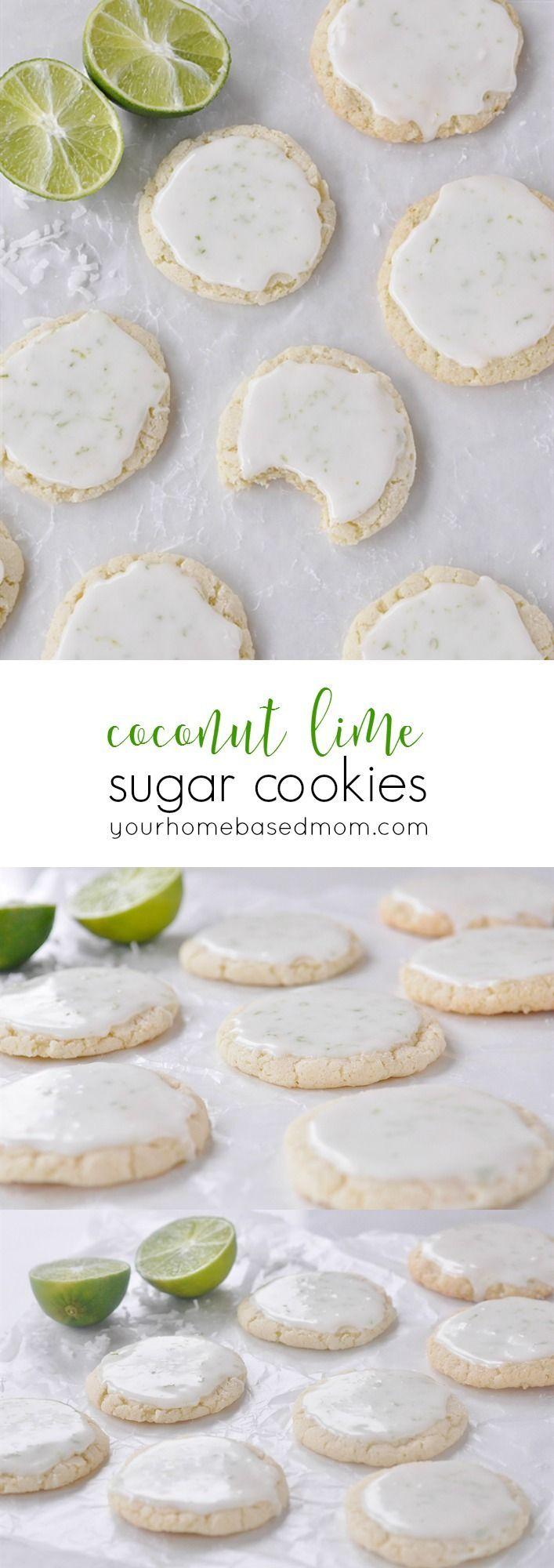 Coconut Lime Sugar Cookies Recipe