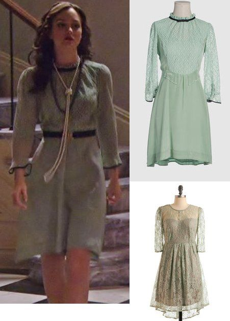 Blair Waldorf Victor Victrola Dress 1x07 Dress:  Marc Jacobs  Headband:  Stacey Lupidas