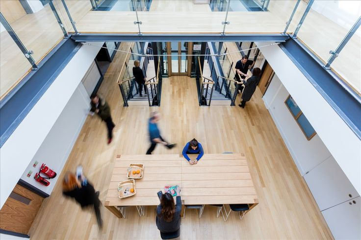 Breakout space at AMC's networks London office