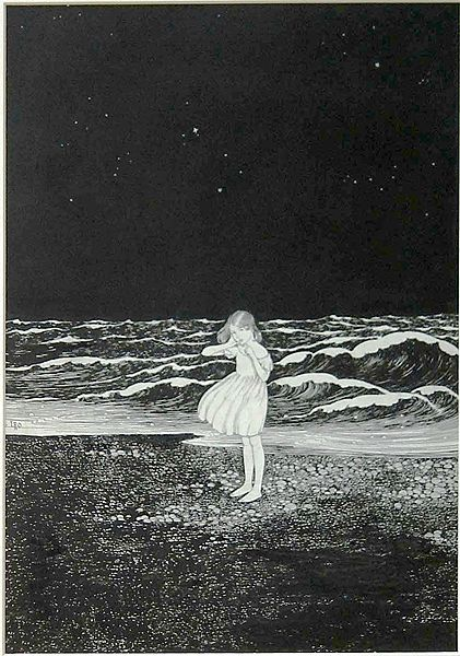 Ida Rentoul Outhwaite, The Calling Sea, c. 1919