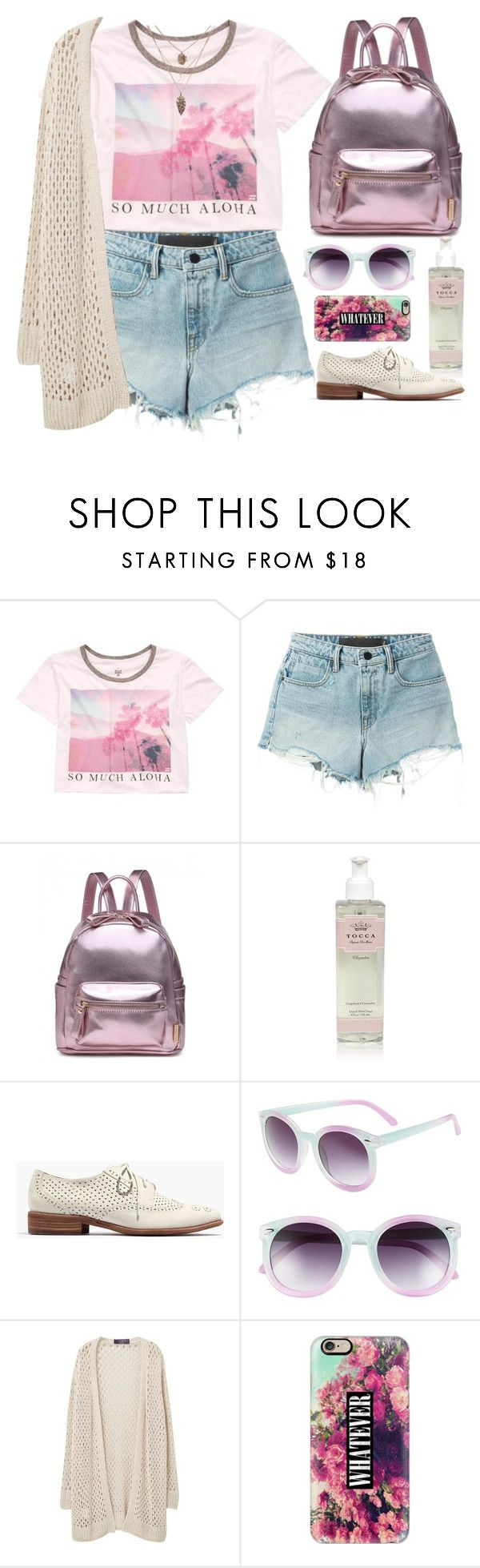"""""""Summer festival"""" by nicolesynth ❤ liked on Polyvore featuring Billabong, T By Alexander Wang, Tocca, Madewell, Tildon, Violeta by Mango and Casetify"""