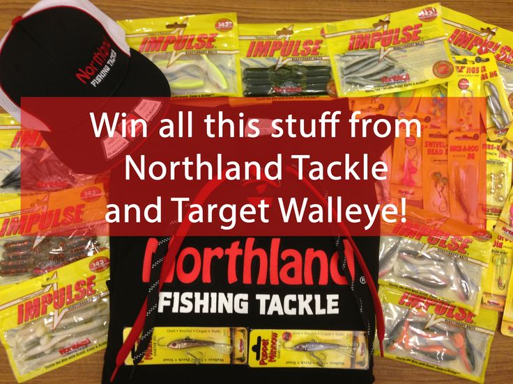 Win this Northland Tackle stuff! (giveaway #2)