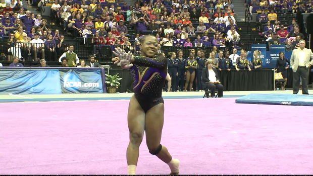 Innovative LSU gymnast leaves unique mark on gymnastics