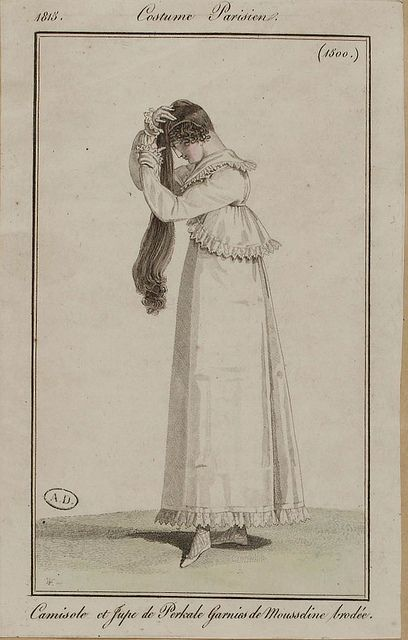 Costume Parisien, 1813.