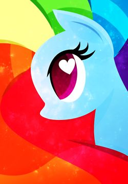this rainbow dash is super cool!
