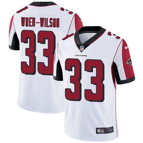 Youth Nike Atlanta Falcons #33 Blidi Wreh-Wilson White Vapor Untouchable Limited Player NFL Jersey