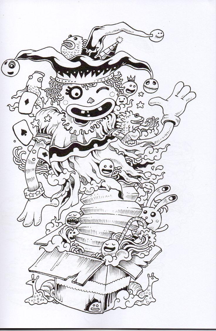 94 Best Doodle Images On Pinterest
