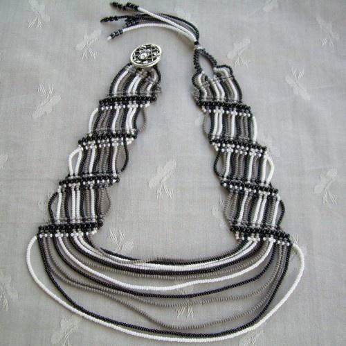 CHOKER - Zebra Print