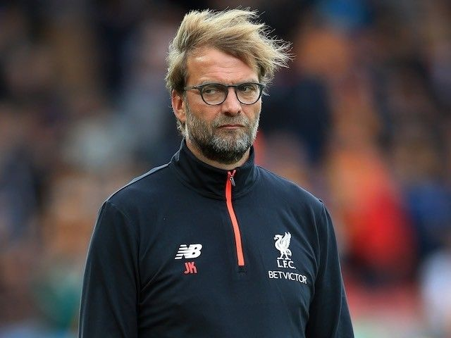 "Liverpool manager Jurgen Klopp ""looking forward"" to Manchester United showdown"