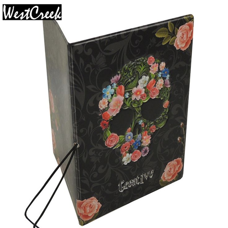 #3D #Skull Floral Thin #Passport #Cover The Cover of the Passport #holder by Perfect Tracking,Don't Worry #aliseller360
