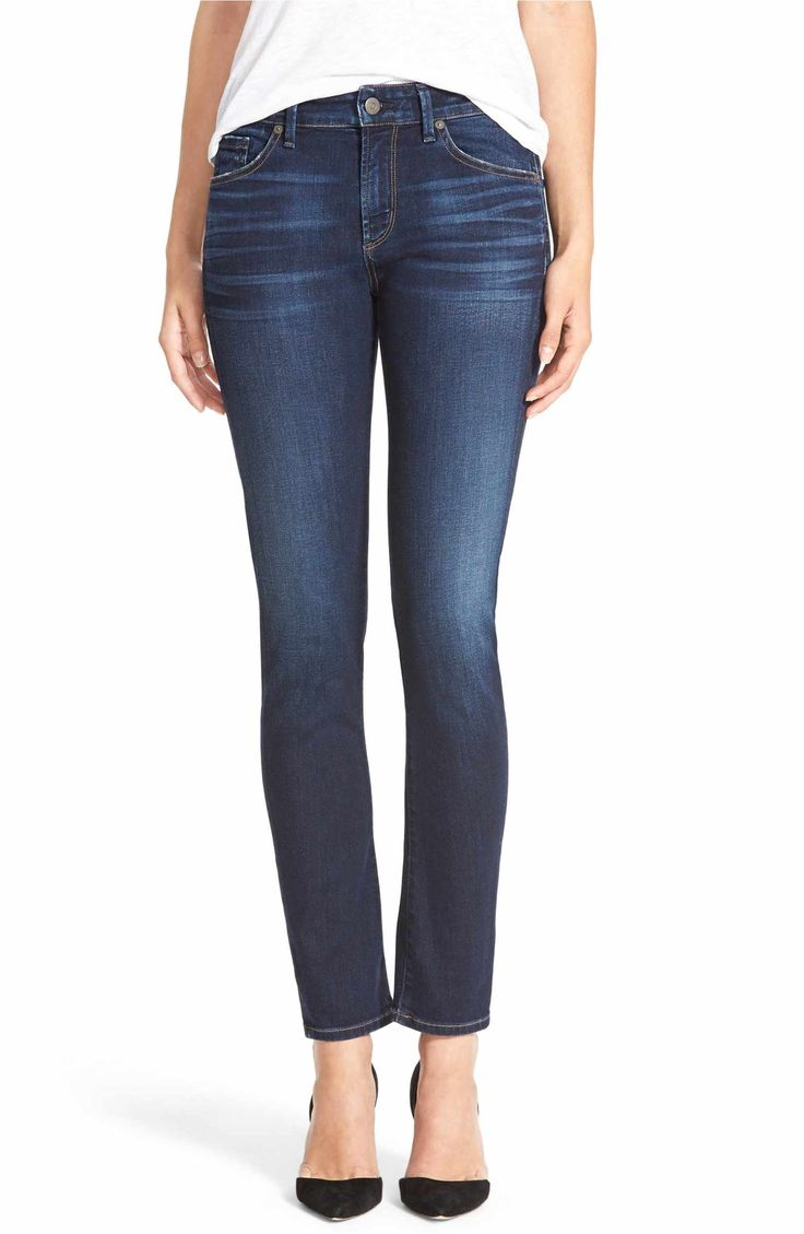 Main Image - Citizens of Humanity 'Arielle' Mid Rise Slim Jeans (Starlite)